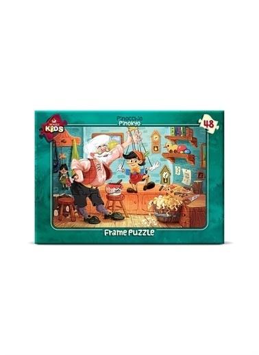 Art Puzzle Art Puzzle Frame Pinokyo 48 Parça Kutu Puzzle  Renksiz